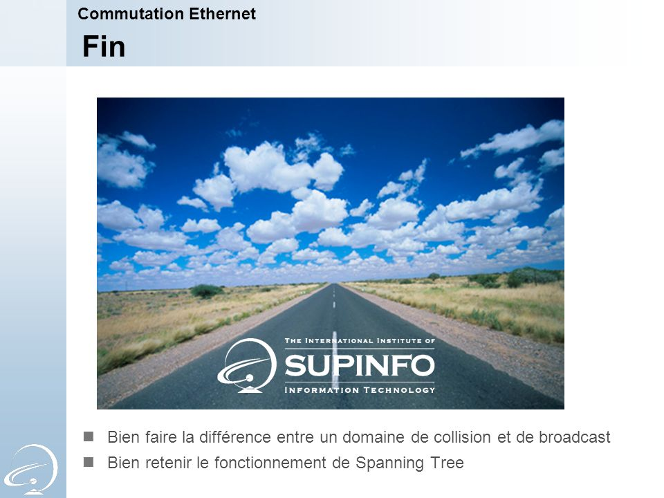 Fin Commutation Ethernet