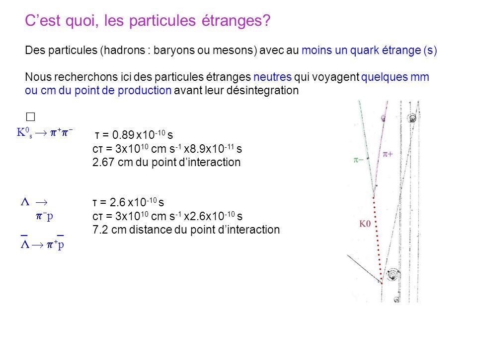 C'est quoi, les particules étranges