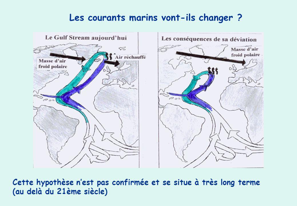 Les courants marins vont-ils changer
