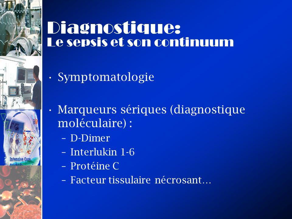 Diagnostique: Le sepsis et son continuum