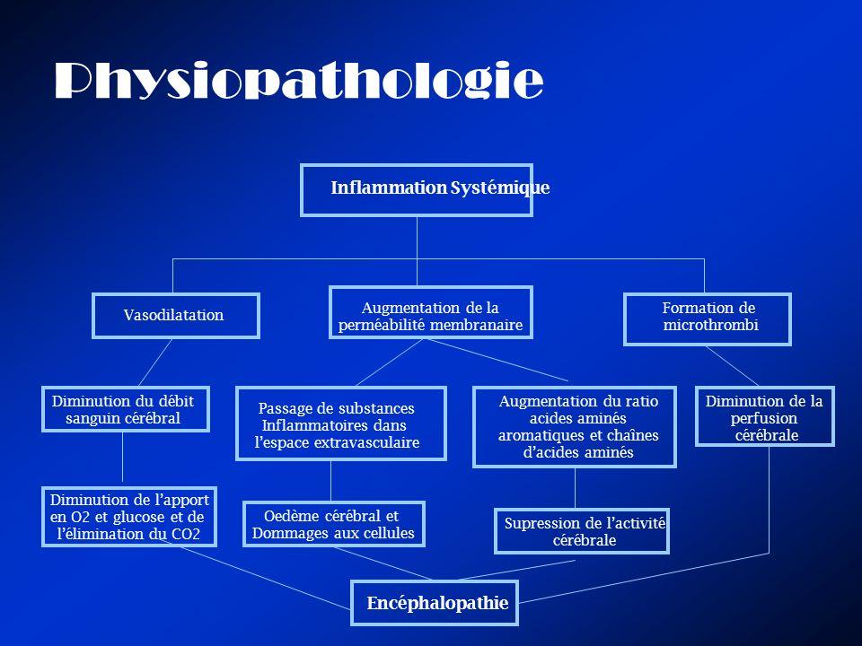 Physiopathologie Inflammation Systémique Encéphalopathie