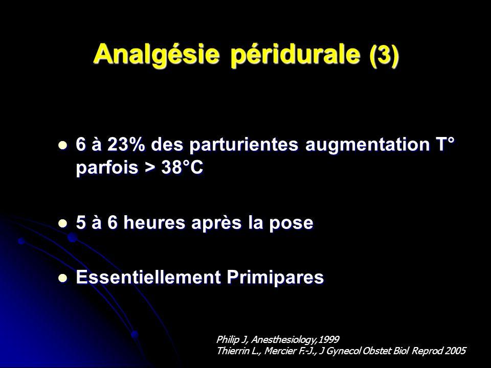 Analgésie péridurale (3)