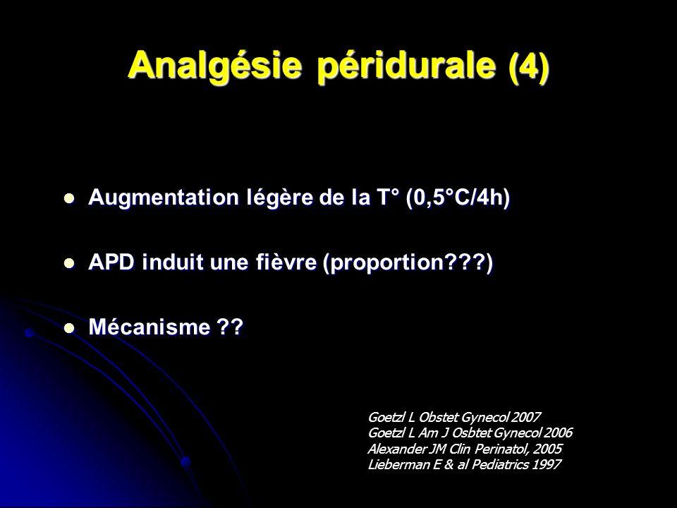 Analgésie péridurale (4)