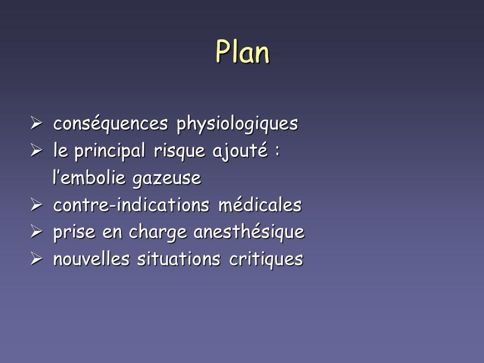Plan conséquences physiologiques le principal risque ajouté :