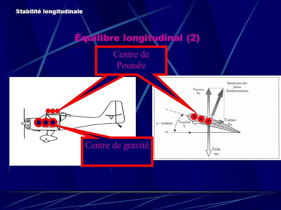 Équilibre longitudinal (2)