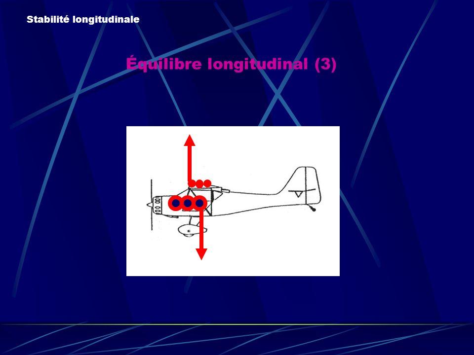 Équilibre longitudinal (3)