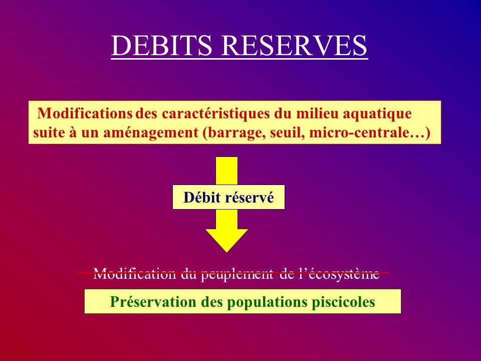 Préservation des populations piscicoles