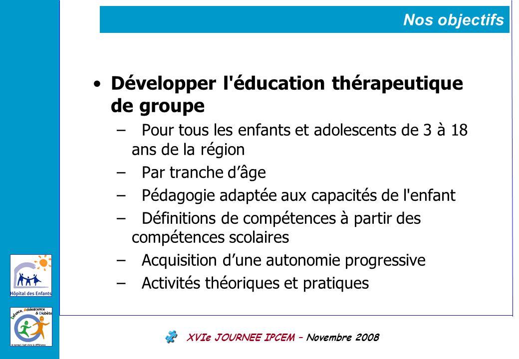 Développer l éducation thérapeutique de groupe