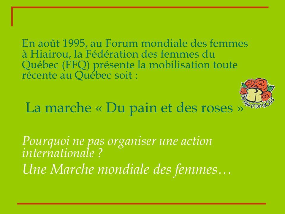 La marche « Du pain et des roses »