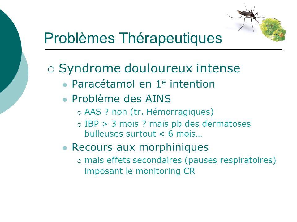 Problèmes Thérapeutiques