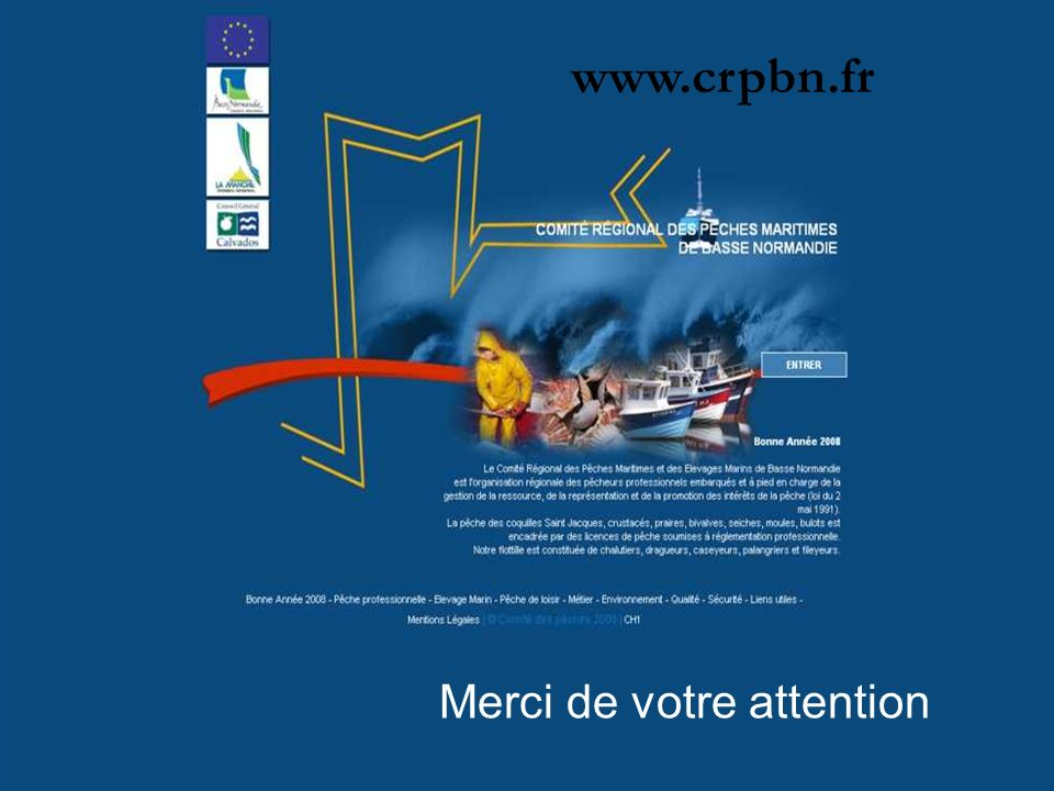 www.crpbn.fr Merci de votre attention