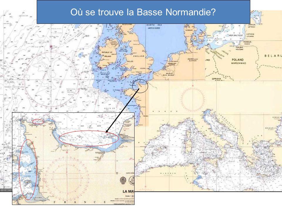 Où se trouve la Basse Normandie