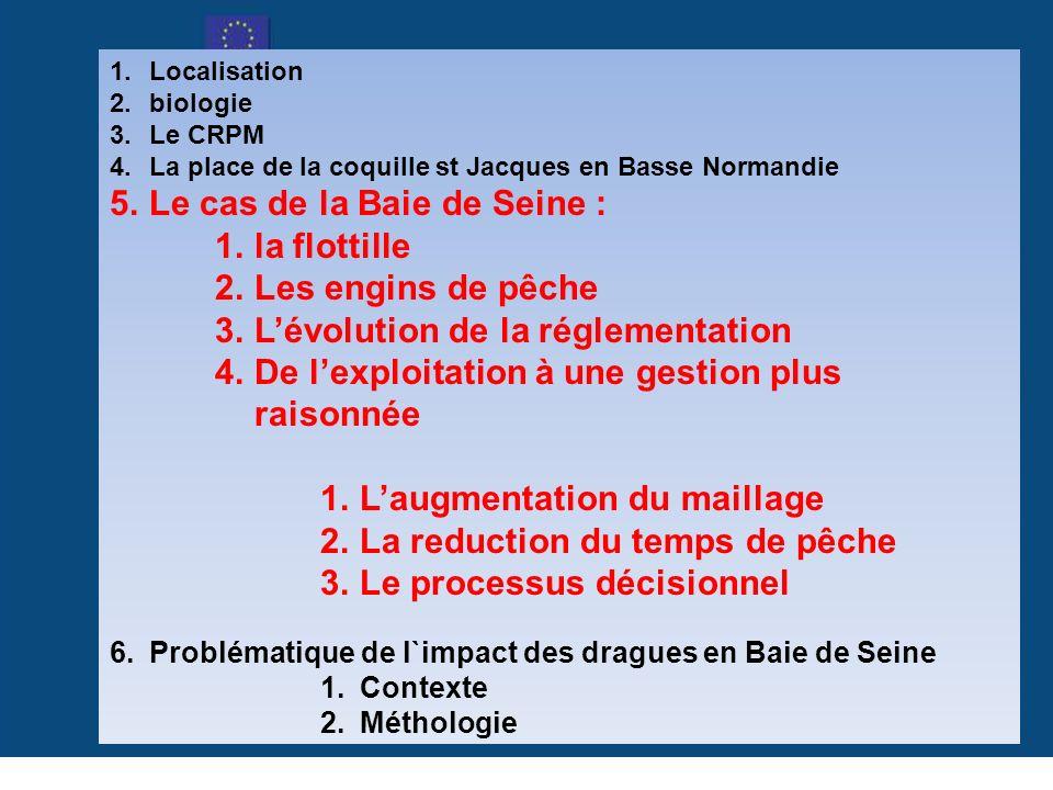 www.crpbn.fr Le cas de la Baie de Seine : la flottille