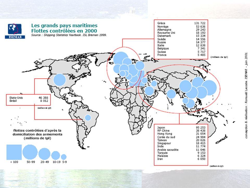 Les principaux pays maritimes
