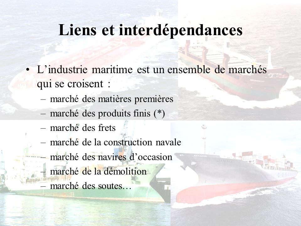 Liens et interdépendances