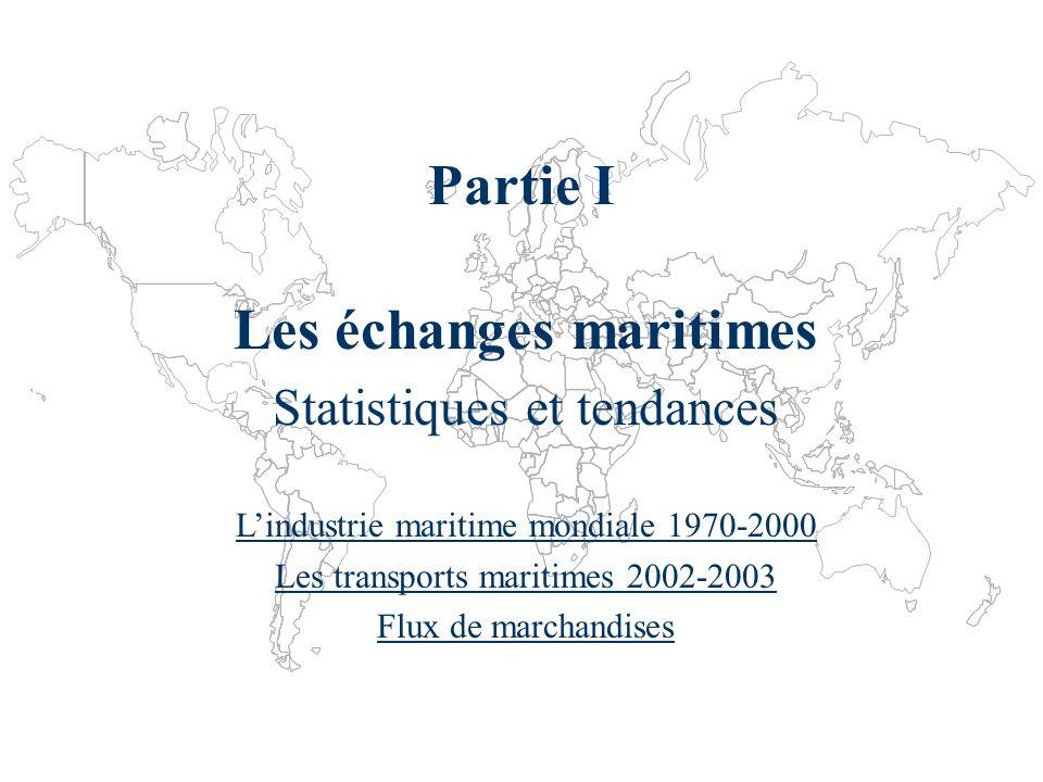 Les échanges maritimes