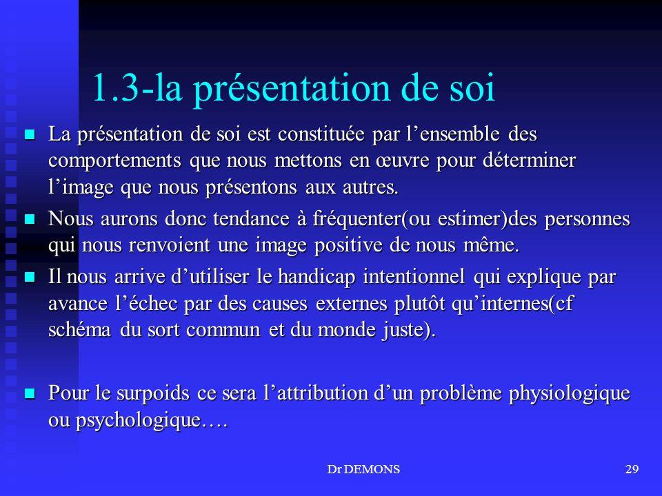 1.3-la présentation de soi