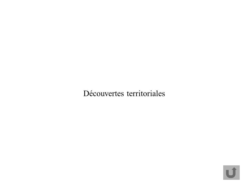 Découvertes territoriales