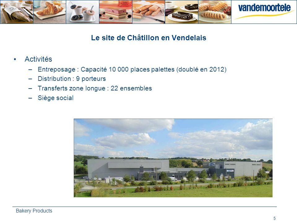 Le site de Châtillon en Vendelais