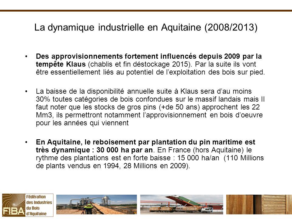 La dynamique industrielle en Aquitaine (2008/2013)
