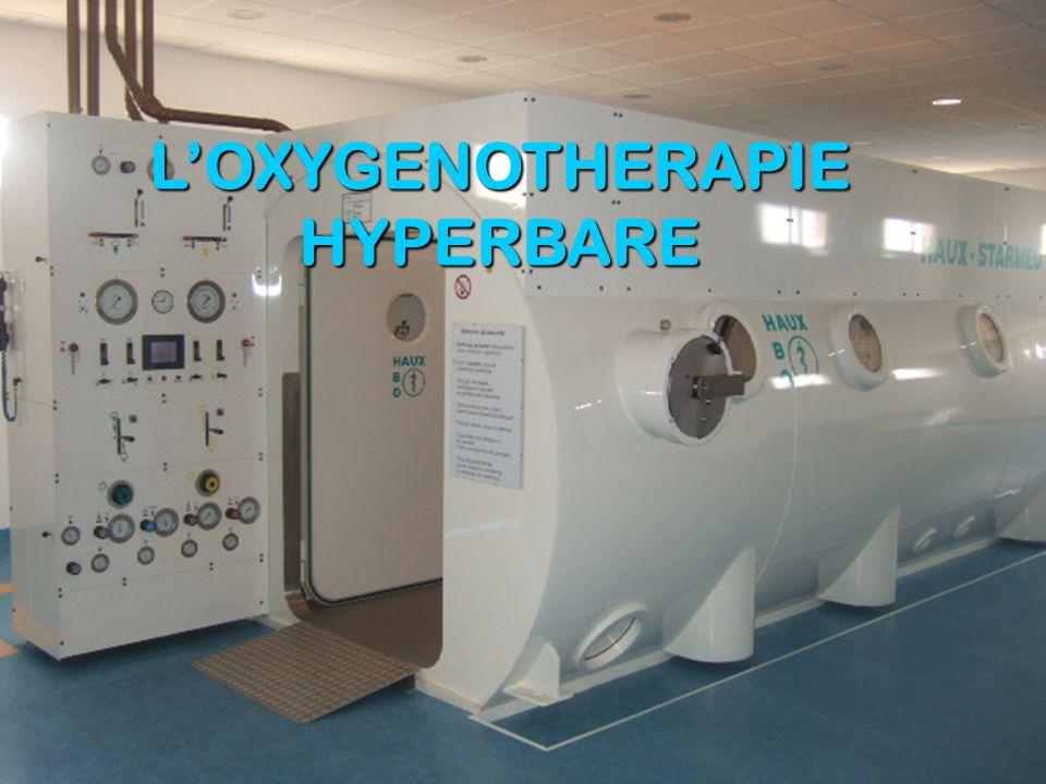 L'OXYGENOTHERAPIE HYPERBARE