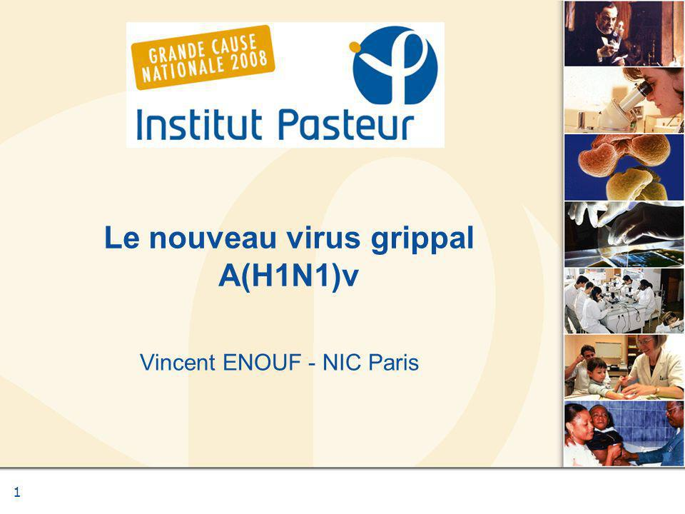 Le nouveau virus grippal A(H1N1)v