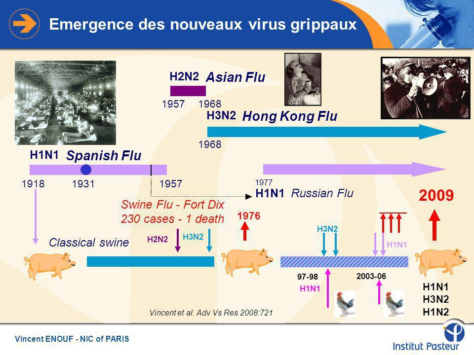 Emergence des nouveaux virus grippaux