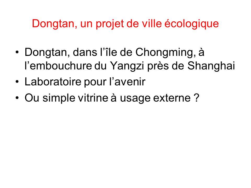 Dongtan, un projet de ville écologique