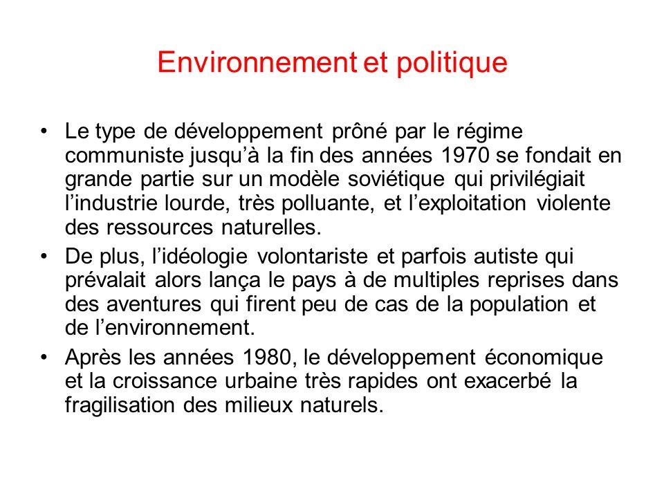 Environnement et politique