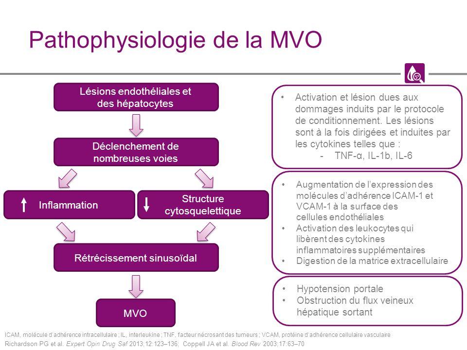 Pathophysiologie de la MVO