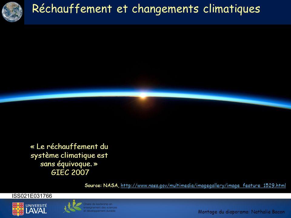 « Le réchauffement du système climatique est