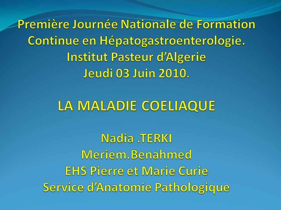 Première Journée Nationale de Formation Continue en Hépatogastroenterologie.