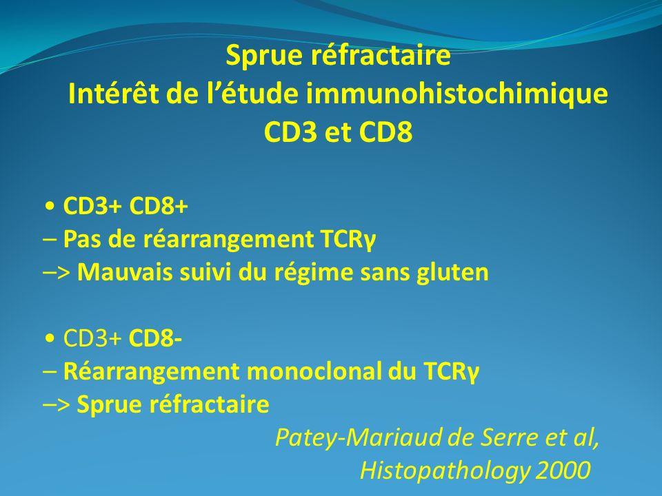 Intérêt de l'étude immunohistochimique
