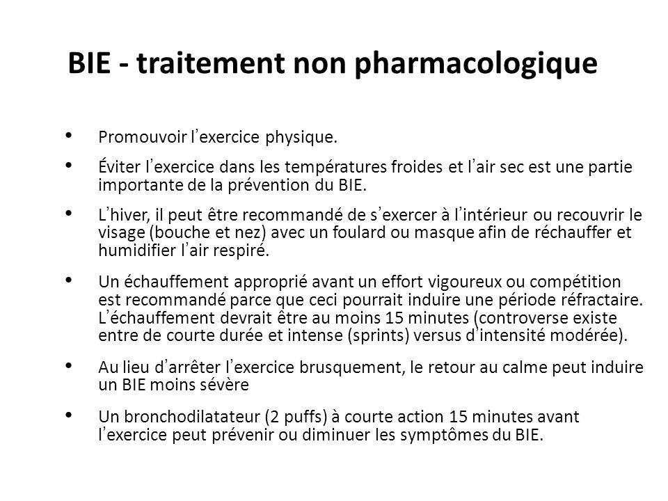 BIE - traitement non pharmacologique