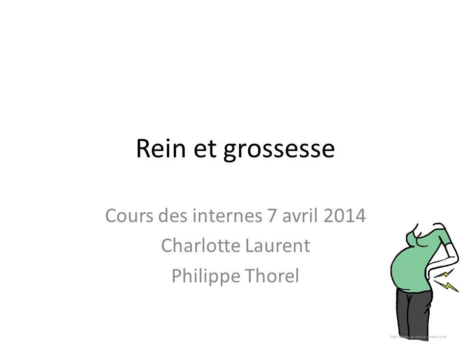 Cours des internes 7 avril 2014 Charlotte Laurent Philippe Thorel