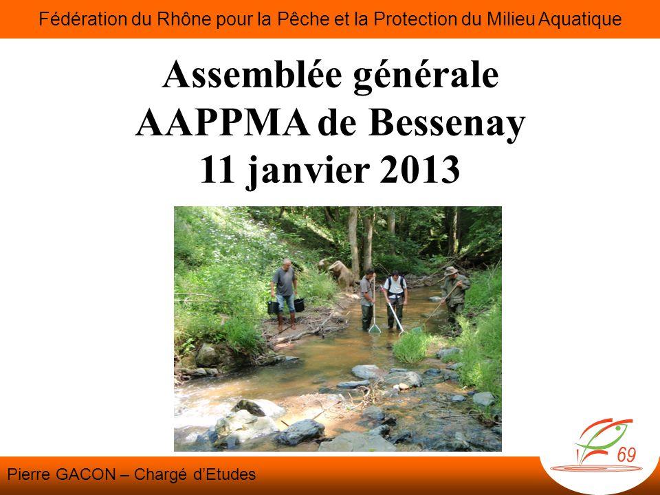 Assemblée générale AAPPMA de Bessenay 11 janvier 2013