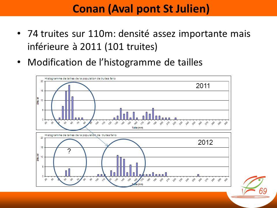 Conan (Aval pont St Julien)