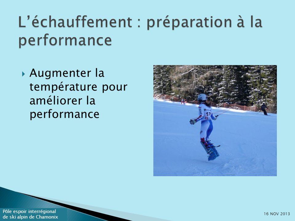 L'échauffement : préparation à la performance