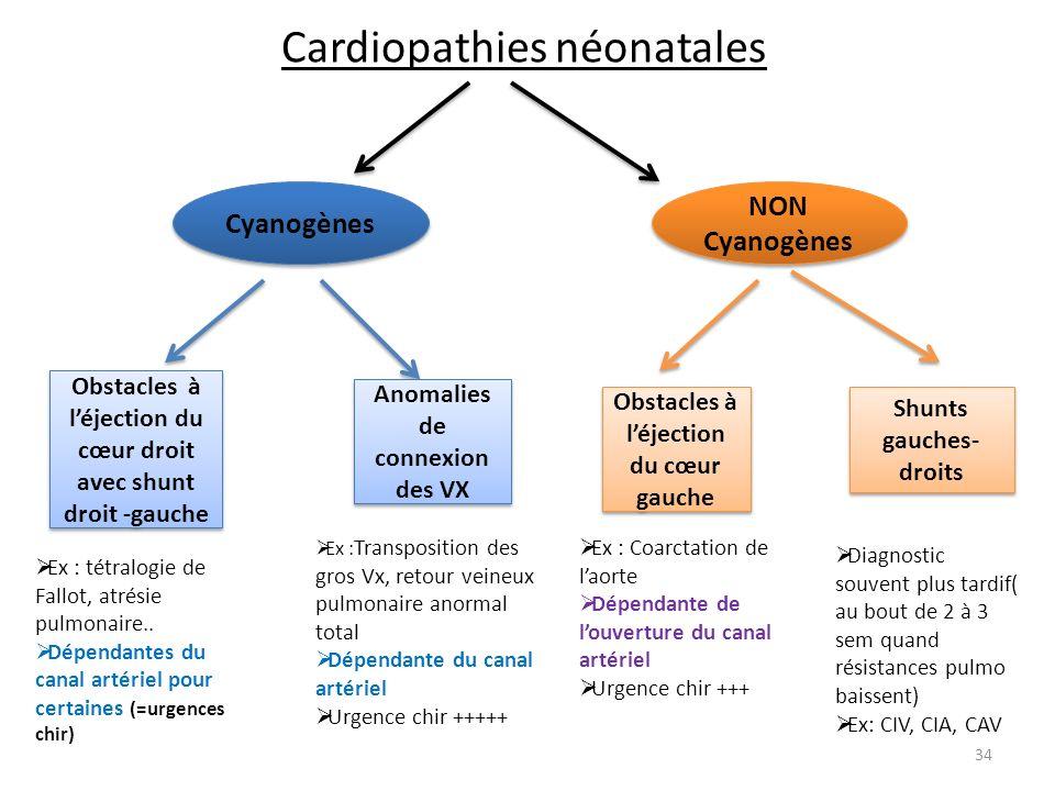 Cardiopathies néonatales