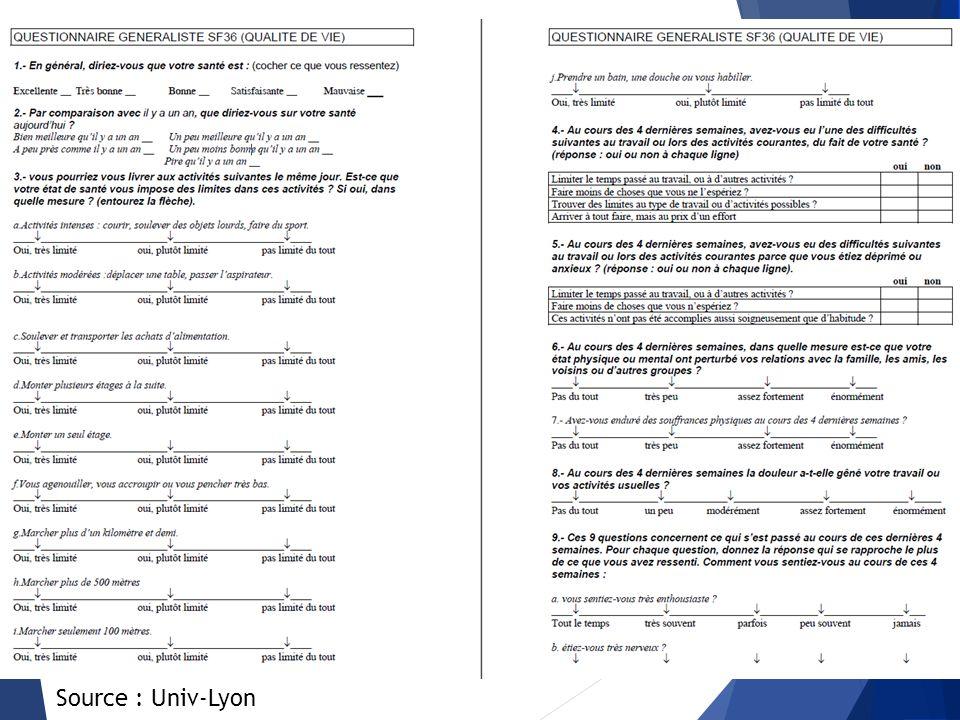 Exemples d'indicateurs (2)