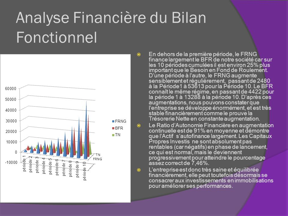 Analyse Financière du Bilan Fonctionnel