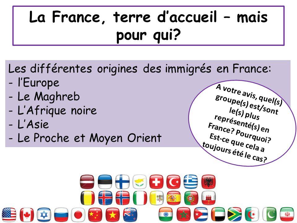 La France, terre d'accueil – mais pour qui
