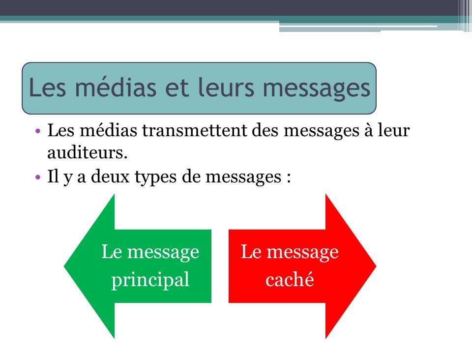 Les médias et leurs messages