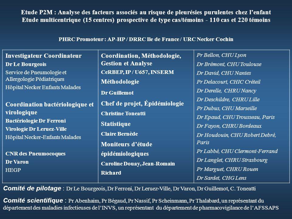 PHRC Promoteur : AP-HP / DRRC Ile de France / URC Necker Cochin