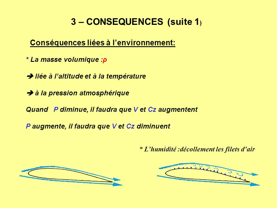 3 – CONSEQUENCES (suite 1)