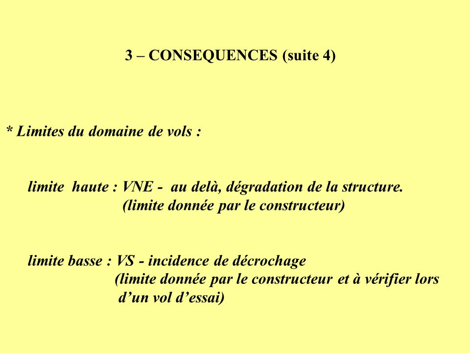 3 – CONSEQUENCES (suite 4)