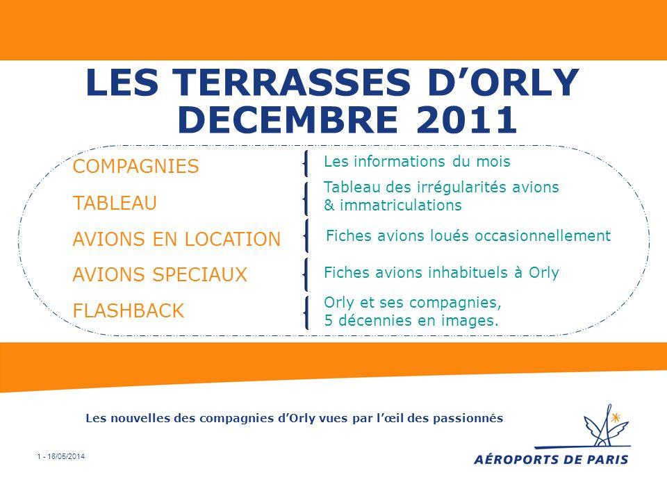 LES TERRASSES D'ORLY DECEMBRE 2011