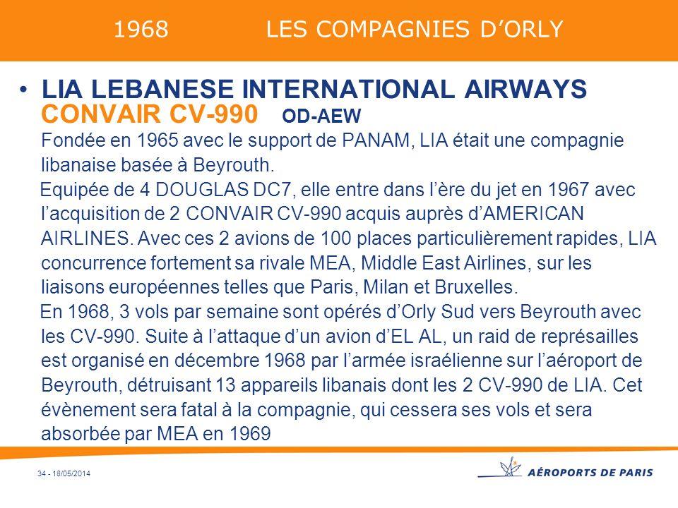 LIA LEBANESE INTERNATIONAL AIRWAYS