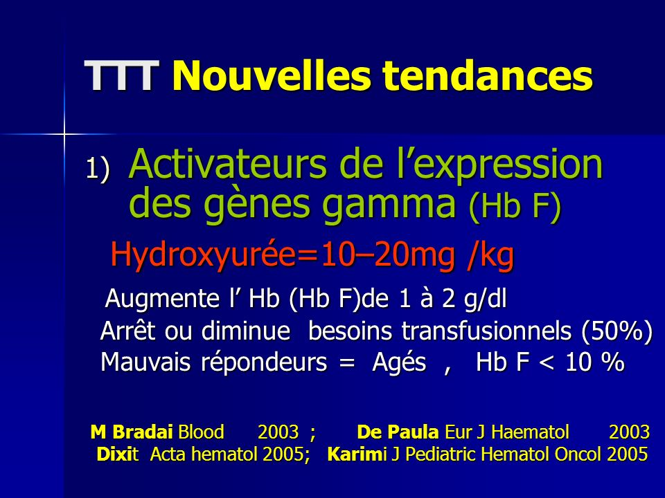 TTT Nouvelles tendances