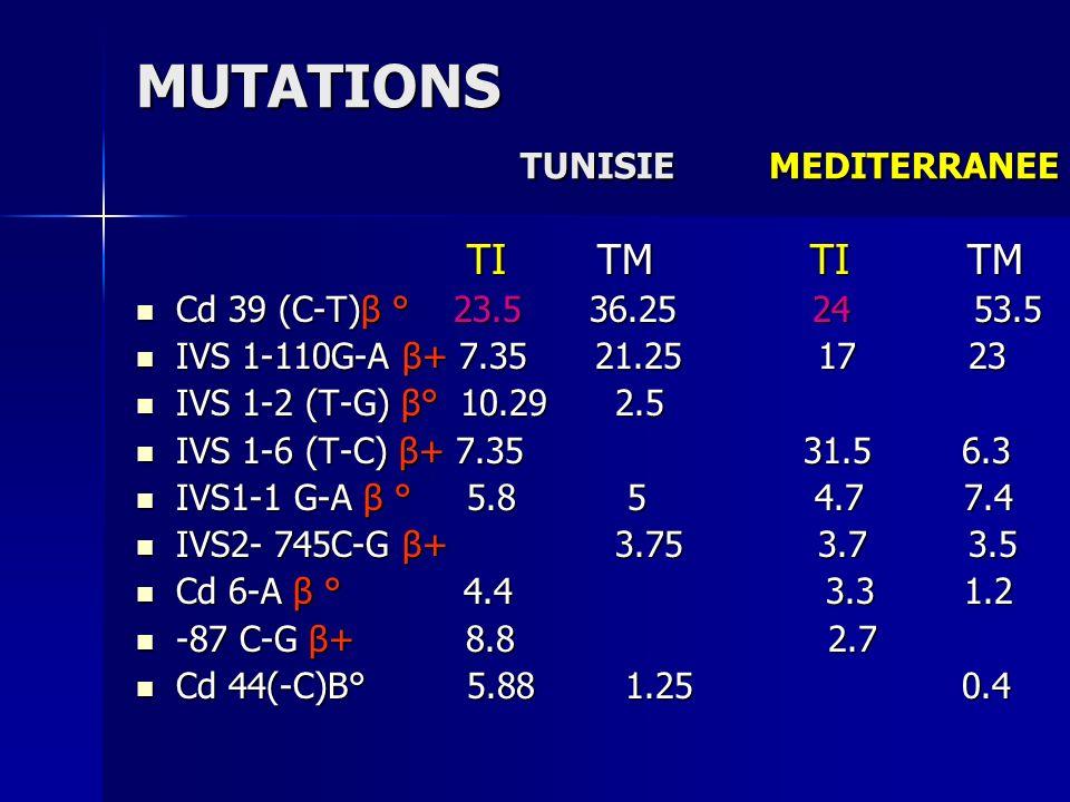 MUTATIONS TUNISIE MEDITERRANEE